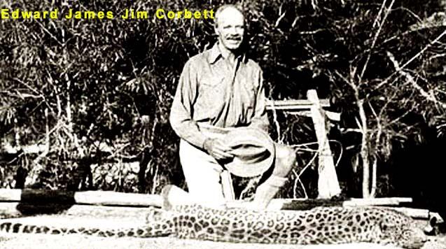 About Edward James Jim Corbett