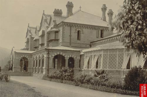 Old Governor House, Naini Tal, 1895