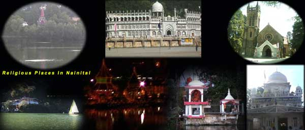 Religious Places In & Around Nainital District